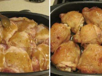 Куриные бедрышки в медовом соусе. Теперь этот рецепт — мой фаворит!