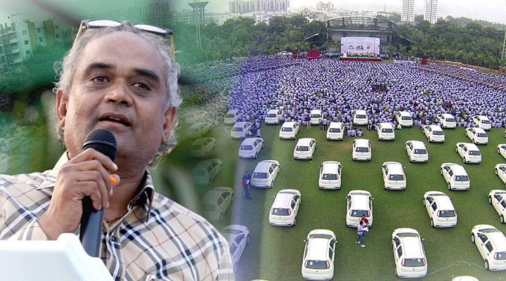 Индийский бизнесмен дарит квартиры, машины и бриллианты своим сотрудникам
