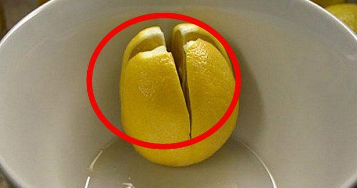 Разрежьте лимоны и поставьте в спальне. Это может спасти вам жизнь!