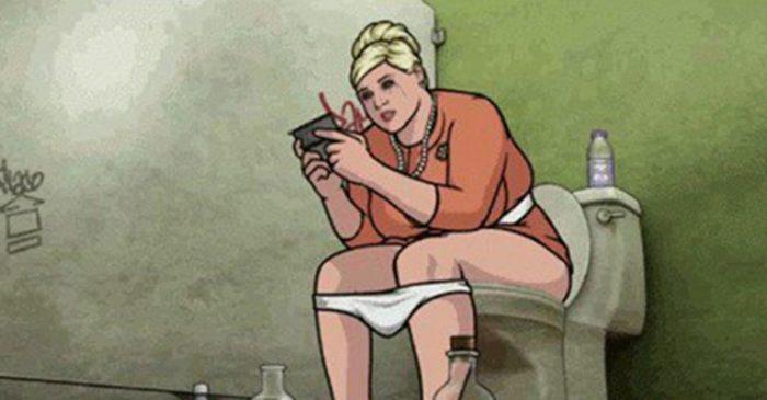 Прочитав эту статью, Вы больше никогда не возьмете телефон с собой в туалет!