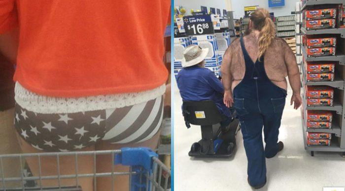 20 самых странных посетителей американских супермаркетов