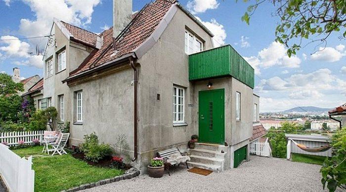Они выставили этот унылый серый дом на продажу. Но когда вы увидите интерьер, то непременно захотите купить его!