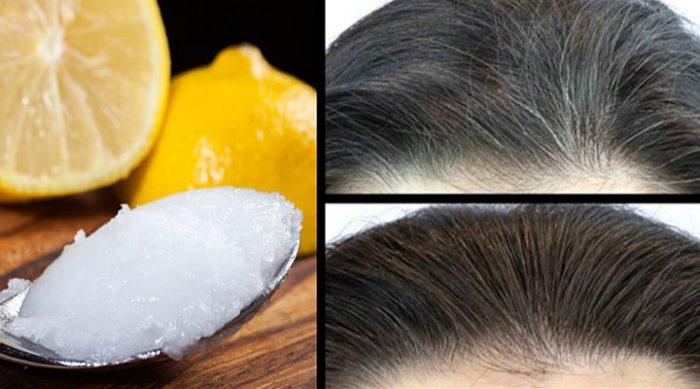 Она смешала эти 2 ингредиента и эффективно избавилась от седых волос