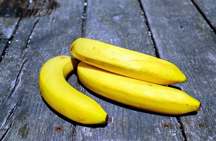 банан с корицей