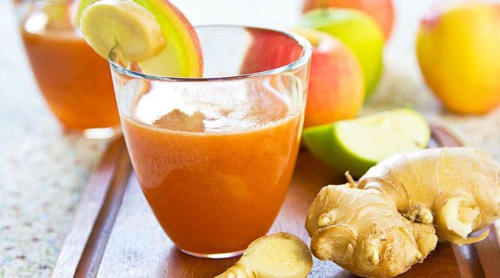 Вот что будет с организмом, если каждый день пить морковно-имбирный смузи