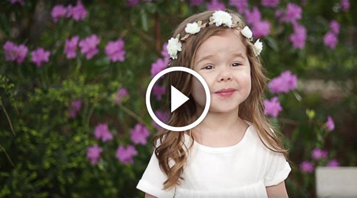 Христианская песня в исполнении 3-летней девочки стала суперхитом Интернета
