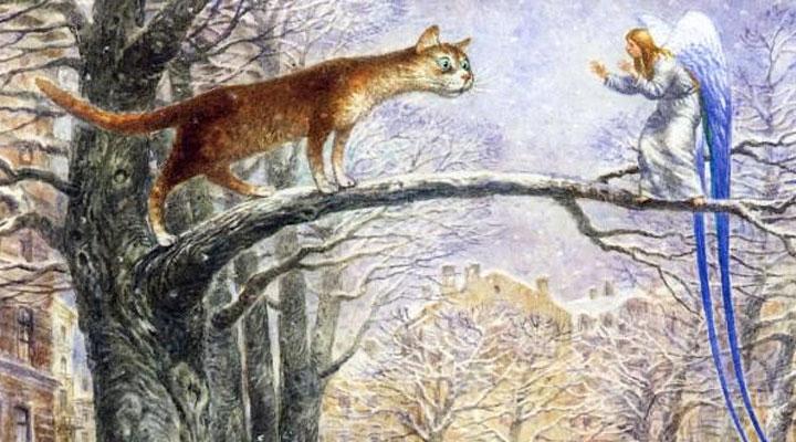 Кот и Ангел (самая добрая сказка!)
