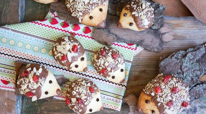 """Мама сделала детям печенье """"Ежики"""". Теперь они каждый раз просят только его"""