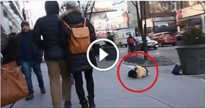 Полураздетый мальчик 2 часа мерз на улице при -15 °C. Вы не поверите, КТО пришел ему на помощь…