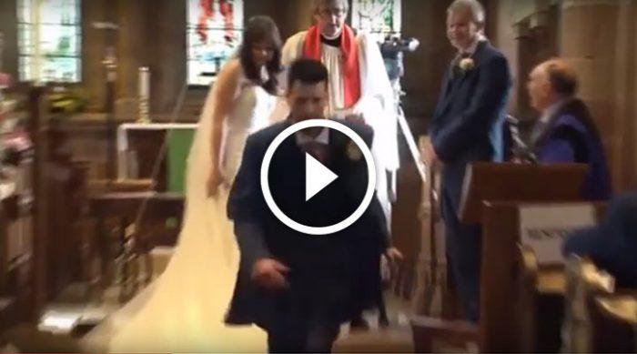 Он бросил невесту у алтаря. Гости не смогли сдержать смех, когда узнали причину!