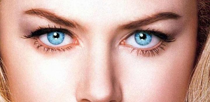 Серо-голубые глаза: значение Магия цвета 87