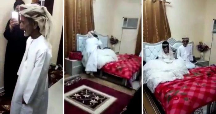 Арабский 80-летний дедушка взял в жены 12-летнюю девочку, с согласия ее родителей