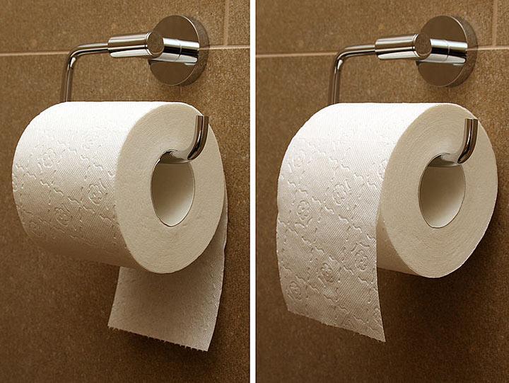 рулон туалетной бумаги фото