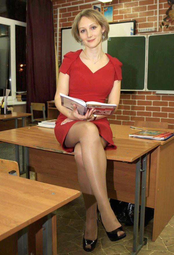 Сексуальная учительница истории
