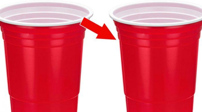 Вы замечали эти линии на пластиковых стаканчиках? Вот для чего они предназначены….