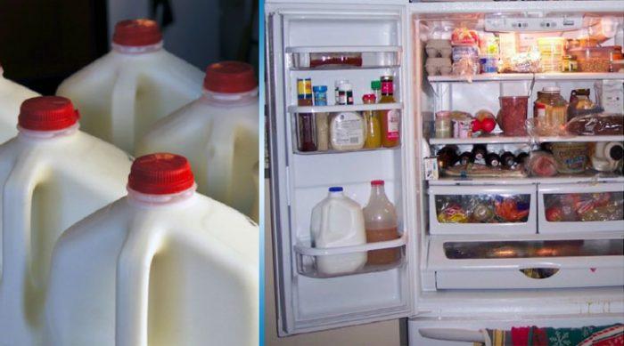 Если вы храните молоко в двери холодильника — немедленно прекратите это делать!