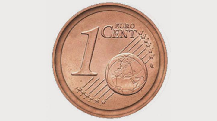 Сколько стоит 1 евро цент имро
