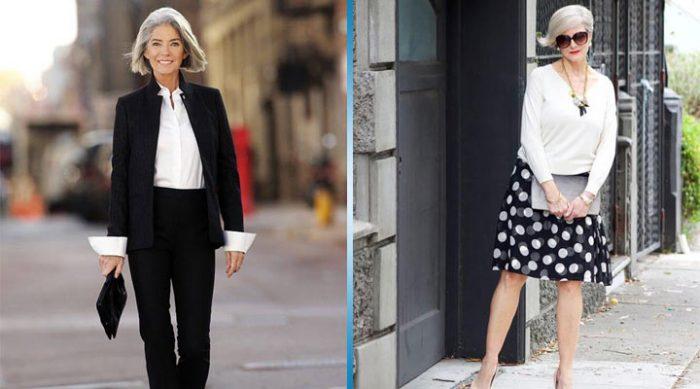 Уличная мода после 50 или стильная зрелость