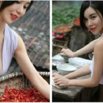 Вот как выглядят китайские деревенские девушки. Да по ним же рыдает Victoria Secret!