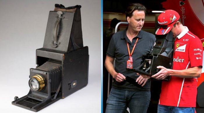 Этот фотограф принес на современные гонки Формулы-1 фотоаппарат 104-летней давности. Итог фотосессии получился ошеломительным!