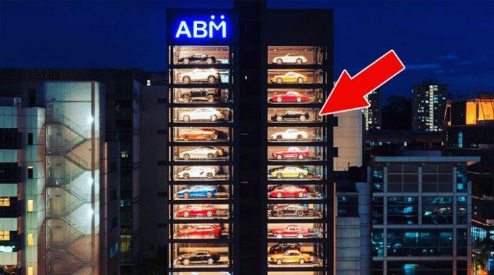 Автомат по продаже кофе? Пффф… Самый крутой торговый автомат в мире продает… автомобили!