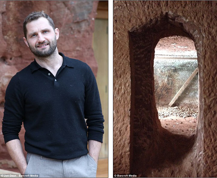 Он купил древнюю пещеру и обустроил в ней дом своей мечты. Только посмотрите на это чудо!