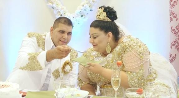 Свадьба цыган в Словакии – невесту засыпали купюрами в 500 евро и золотом (ФОТО, ВИДЕО)