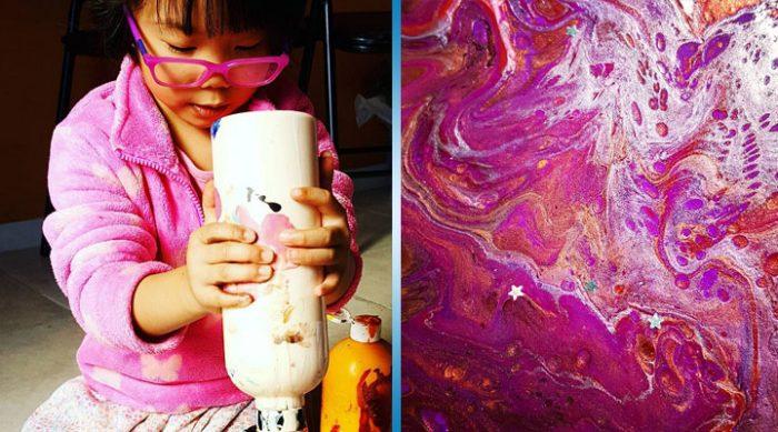 Эта 5-летняя профессиональная художница продает свои удивительные картины и жертвует деньги бедным детям