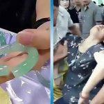 Туристка случайно сломала нефритовый браслет, примеряя его. Когда ей показали цену – она потеряла сознание!