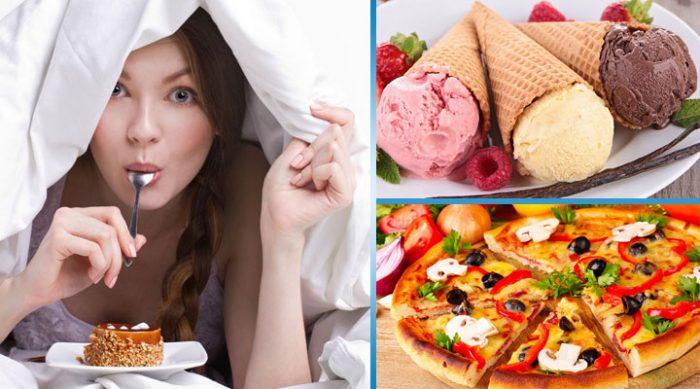 10 продуктов, которые ни в коем случае нельзя есть перед сном