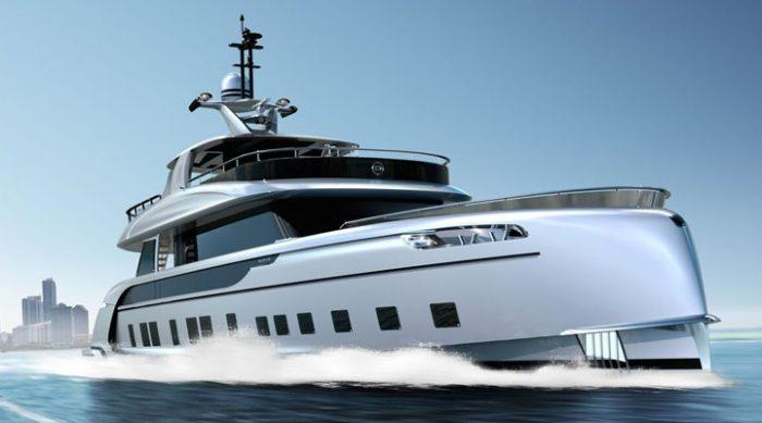 Супер-яхту с дизайном от Porsche уже спустили на воду. И она поражает воображение!