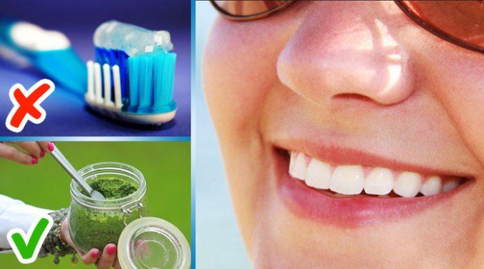 9 способов отбелить зубы, продукты для которых вы сможете найти у себя на кухне