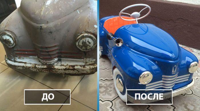 Этот мастер дарит вторую жизнь старым детским машинкам. Только посмотрите на его творения!
