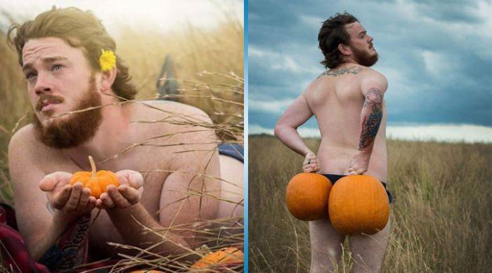 Они решили провести шуточную осеннюю фотосессию. Но их снимки произвели настоящий фурор в Сети!