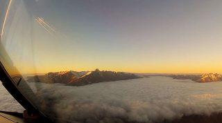 Вот почему мы с тоской смотрим в небо. Одно из самых впечатляющих видео из кабины пилота!