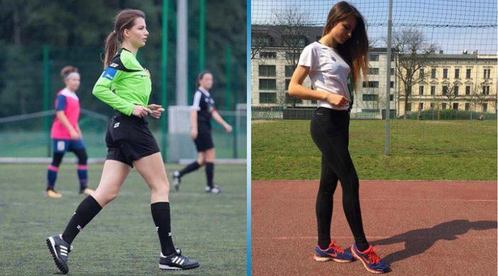 Каролина Бояр: футбольная судья, покорившая сердца болельщиков
