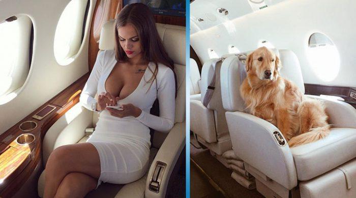 Нет ничего круче фотки на борту частного самолета. Но не удивляйтесь, скорее всего вас обманывают!