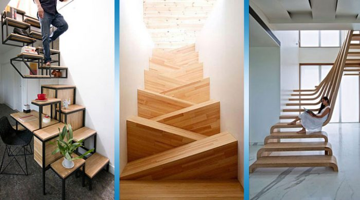 25 оригинальных дизайнов лестниц, которые Вас удивят