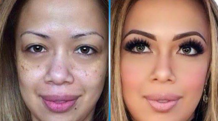 Как нас обманывают с помощью макияжа. Мужики, берегитесь!