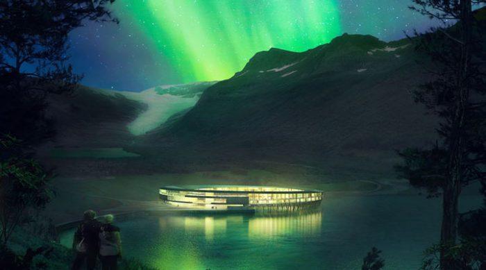 Первый энергоположительный отель за Полярным кругом будет потреблять энергии меньше, чем производить!