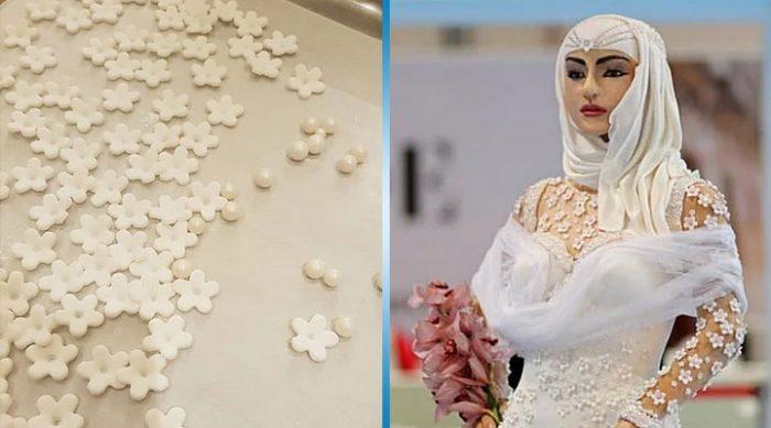 «Невеста на миллион»: в Дубае создан самый роскошный и необычный свадебный торт