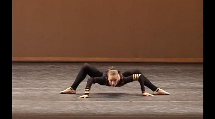 ПАУК в исполнении Милены Сидоровой. ТАКОЙ балет вы еще не видели!