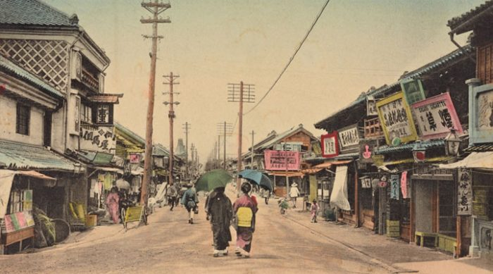 Довоенная Япония: 14 потрясающих исторических снимков