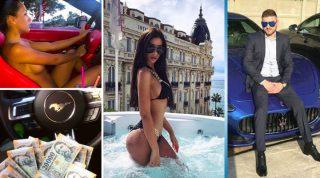 «Золотая молодежь» Будапешта показала свой роскошный образ жизни