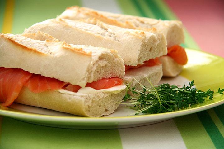 бутерброды в дорогу