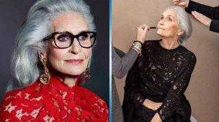 Неувядающая грация: старейшей супермодели в мире исполнилось 90 лет!