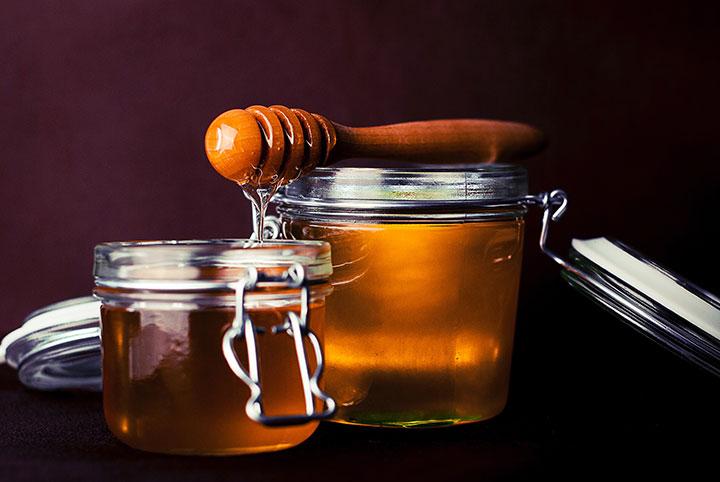 Пирог с инжиром и медом
