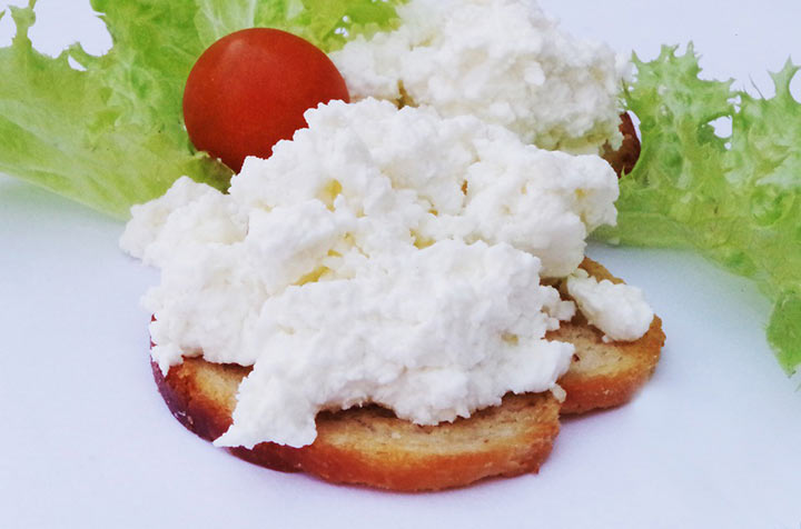Сандвич с творогом